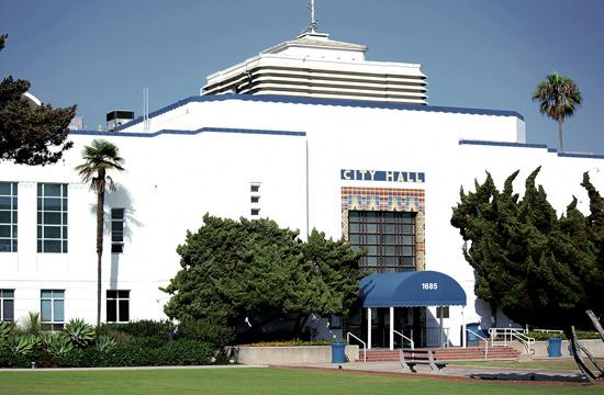 Improvements inside Santa Monica City Hall will now cost nearly $4.7 million.