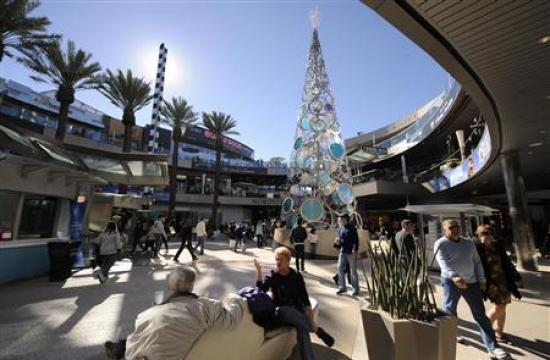 Santa Monica Place will be the hub of Black Friday shopping today