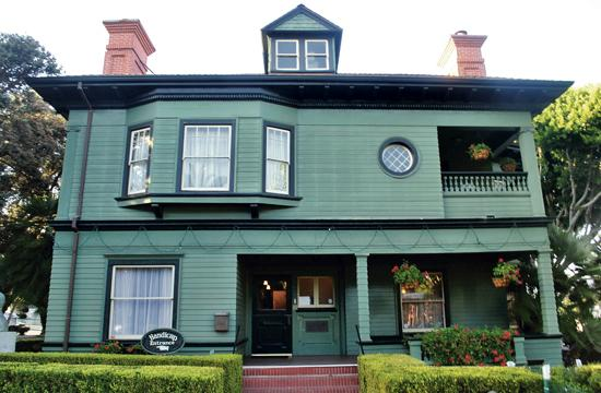 Santa Monica's California Heritage Museum on Main Street needs help in the form of mowing the lawn