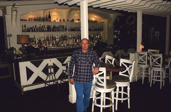 John M. Sofio has brought a nautical theme to Shorebar