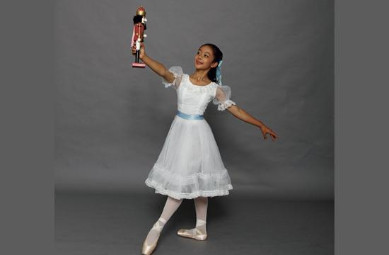 """Eleven-year-old Anna Yeh will play the lead role in """"The Nutcracker"""" at The Luckman Theatre next weekend"""
