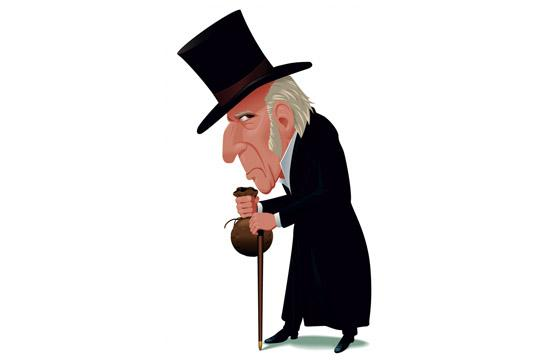 Scrooge The Musical will be performed three times this weekend at First United Methodist Church in Santa Monica.