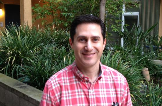 Political science professor Eric Oifer has been named 2012 SMC Faculty of the Year.