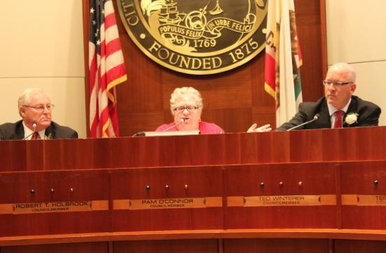 Pam O'Connor was appointed Santa Monica Mayor on Tuesday