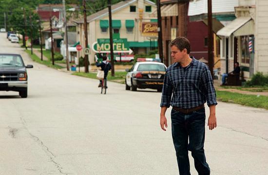 """Matt Damon stars as Steve Butler in Gus Van Sant's contemporary drama """"Promised Land."""""""