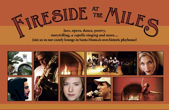 Fireside At The Miles will be held weekends through Jan. 25 at the Miles Memorial Playhouse