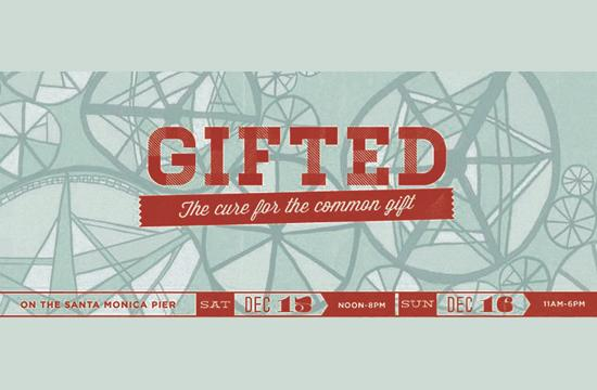 The GIFTED Holiday Marketplace will be held Saturday