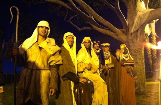 The interactive holiday events are allowed as the ban to Nativity scenes at Palisades Park only applies to unattended displays.
