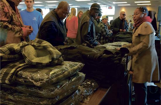 OPCC attendees received items such as jackets