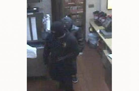 Two of the suspects who robbed the Jack in the Box restaurant in the early morning hours of Tuesday