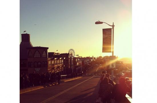 The Santa Monica Pier is an Instagram hotspot