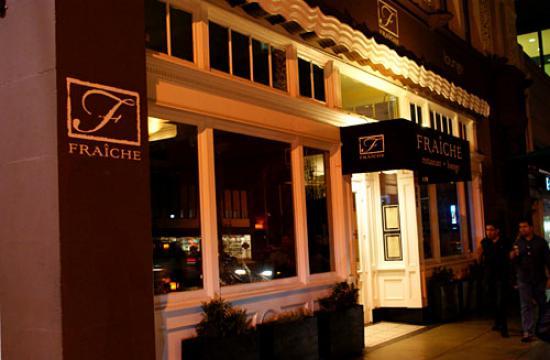 Fraiche restaurant at 312 Wilshire Boulevard in Santa Monica has closed