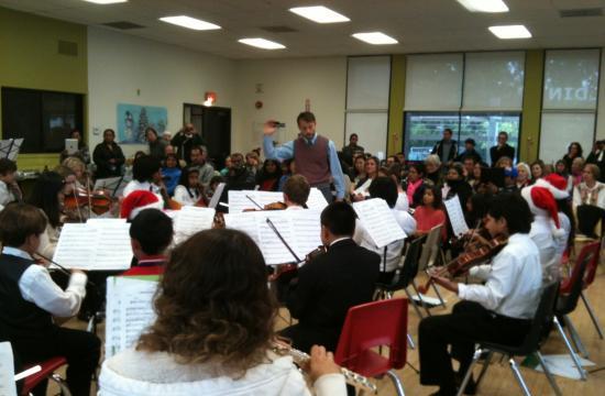 The Santa Monica Youth Orchestra (SMYO) Holiday Concert was held Dec. 16