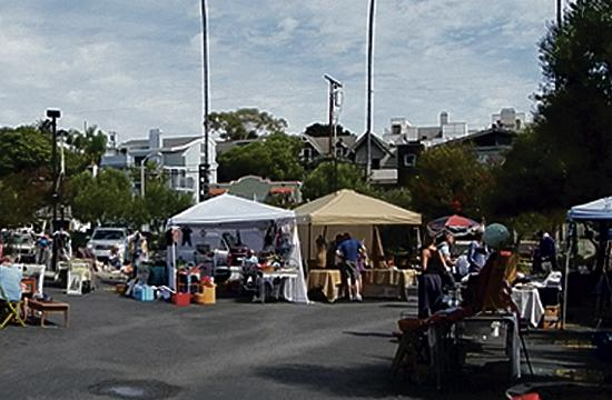 John Muir Elementary School's PTA has been hosting free monthly flea markets since 1990 to generate a constant revenue stream for the school's educational programs.