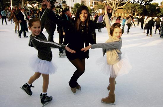 ICE at Santa Monica ice skating instructor Ashleigh Cahn held a holiday recital to end off 2012 at the rink.