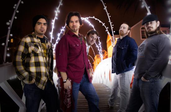"""The band Hunter and The Dirty Jacks has begun a unique Tuesday residency at Harvelle's at 1432 4th Street in Santa Monica called """"Service Your Soul."""" From left: Sean Soto"""