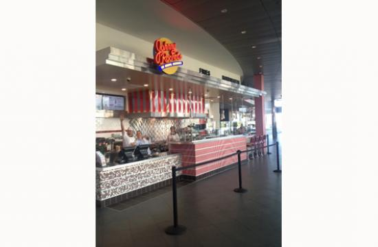 Johnny Rockets' new restaurant at 395 Santa Monica Place is open daily from 10 a.m. to 9 p.m.