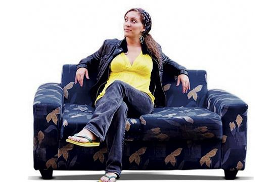"""Alexandra Liss stars in the documentary """"One Couch at a Time"""