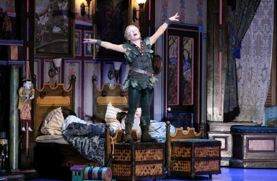 Cathy Rigby stars at Peter Peter in the current Pantages Theatre production that runs through Jan. 27.