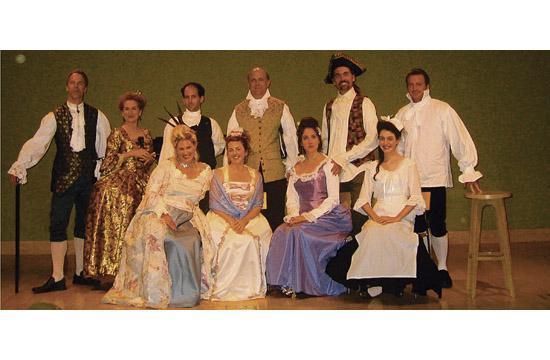 Local non-profit theater company Santa Monica Rep will host a 17th-century French Salon themed fundraiser this Saturday
