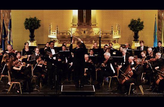 The Santa Monica Symphony performed Sunday