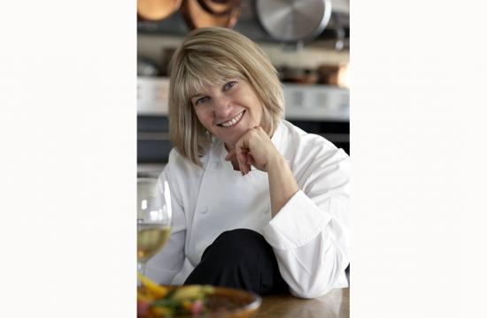 Josie Le Balch celebrates the 12th anniversary of her restaurant at 2424 Pico Boulevard in Santa Monica.