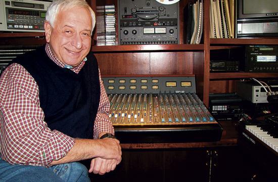 William Goldstein in his studio.