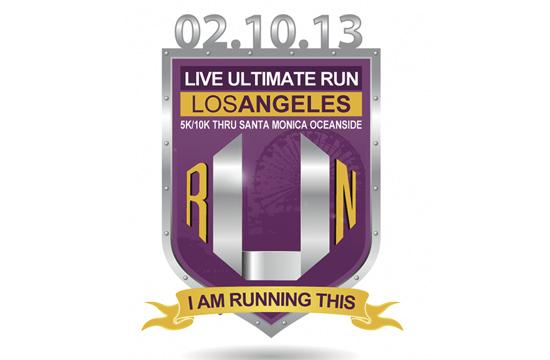 Live Ultimate RUN Los Angeles is this Sunday