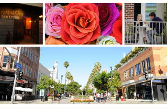 Downtown Santa Monica is filled with Valentine's Day specials and events this Thursday