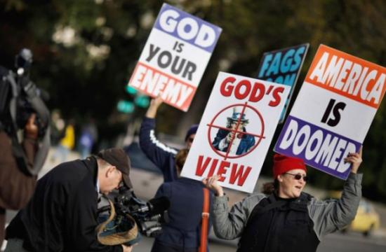 Westboro Baptist Church has announced members will picket Santa Monica High School on Monday