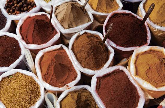 Dried herbs and spices contain nutrients that are concentrated