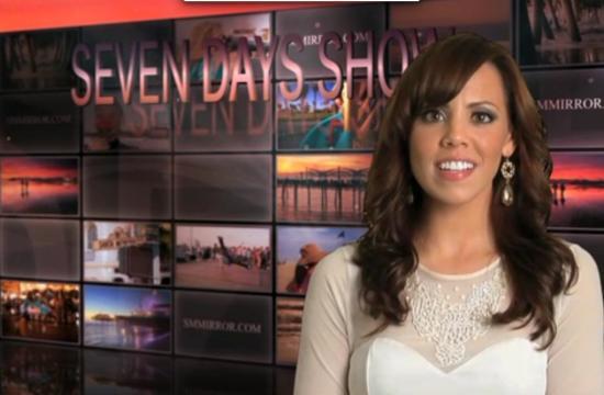 Brianna Moles - Santa Monica Mirror's 'Seven Days Show' host.
