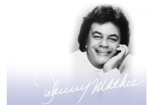 Saint John's Foundation will host a private performance by singing legend Johnny Mathis on Saturday