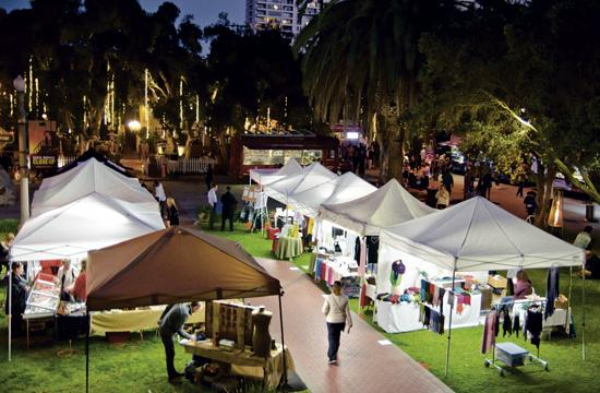 """The """"Food Truck Bazaar"""" will be held every Tuesday from 5:30 pm through 9:30 pm at 2612 Main Street in Santa Monica."""