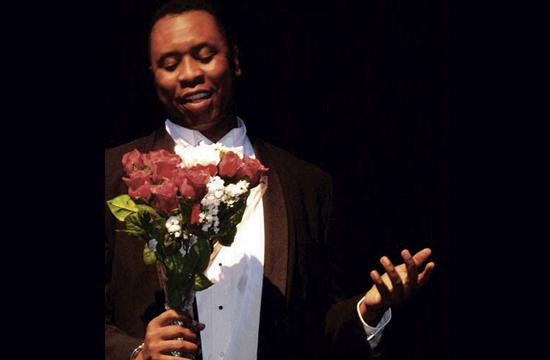 """Actor Stogie Kenyatta will perform the solo show """"The World is My Home - The Life of Paul Robeson"""" at the Santa Monica Playhouse this Saturday"""