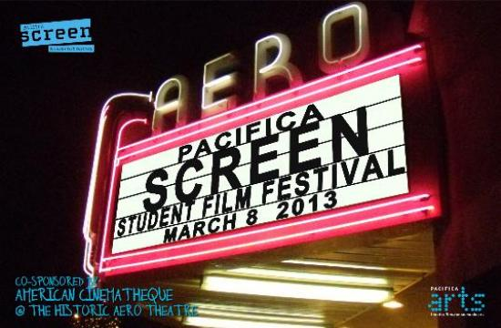 "The Aero Theater presents the ""Screen"" Student Film Festival tonight"
