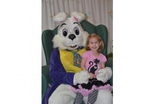 The Easter Bunny will meet children through March 31 at Santa Monica Place.