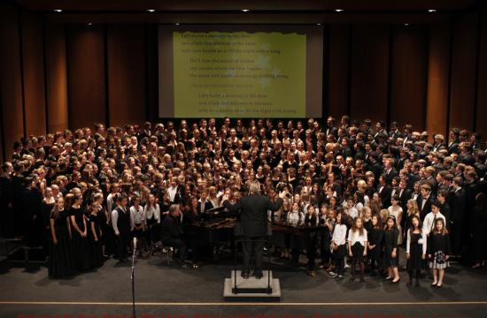The 64th Annual Stairway of the Stars concert finale was held Wednesday through Friday at Santa Monica High School.