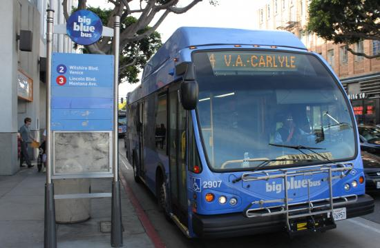 Big Blue Bus will run detours on LA Marathon day