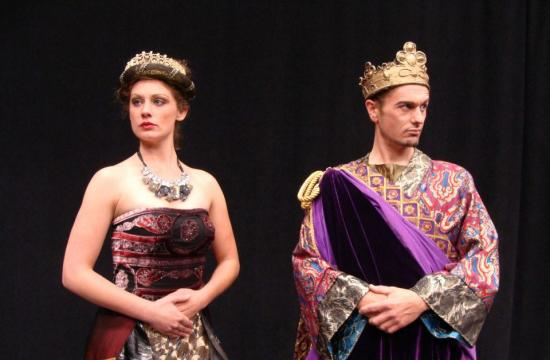 "Heather Regan and Doug Kiphut in ""Salome."""