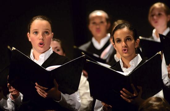 """The National Children's Chorus will perform """"Celtic Soul"""" at The Broad Stage tonight"""