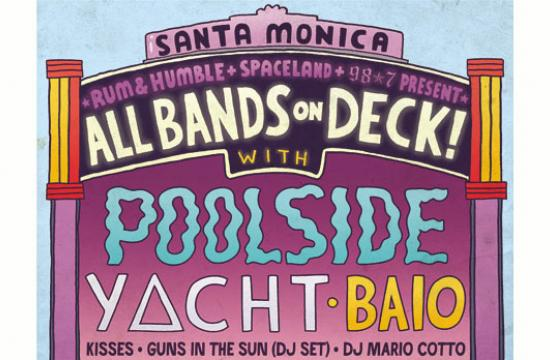 'All Bands on Deck!' will be held this Saturday