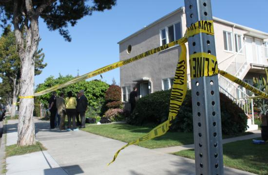 Santa Monica police investigated a death of a woman in an Ocean Park Boulevard apartment Wednesday afternoon. Police say the 52-year-old woman died of natural causes.
