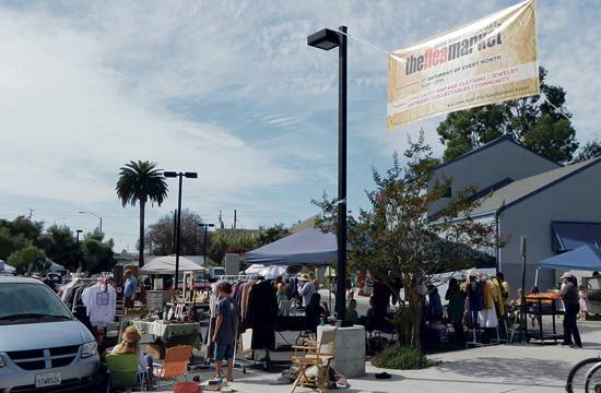 John Muir Elementary School's PTA will host its last free monthly flea markets next Saturday