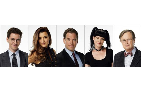"The cast of ""NCIS"" will be honored at the 8th Annual American Red Cross Red Tie Affair next Saturday night. From left: Brian Dietzen"