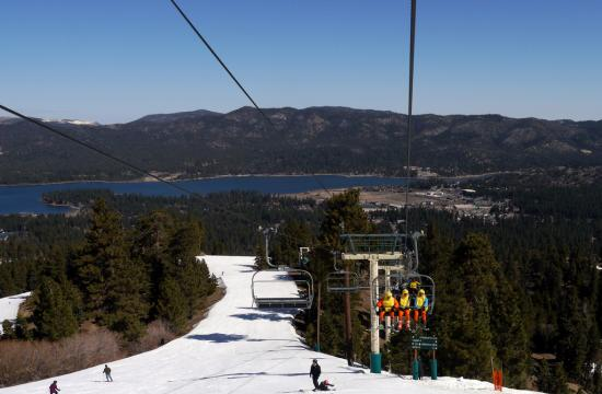 All of the runs at Big Bear Mountain will remain open through April 14 as part of the 2012/13 snow season.