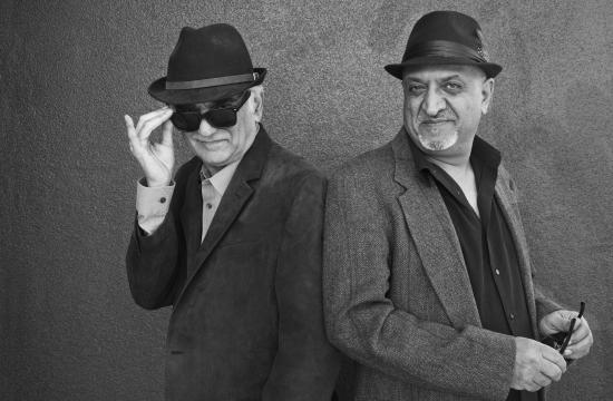 'Babe's and Ricky's Inn' director/producer Ramin Niami and co-producer  Behrouz Arshadi.