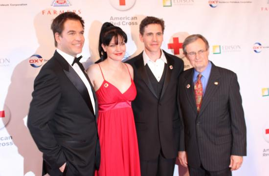 """NCIS"" actors Michael Weatherly (from left)"