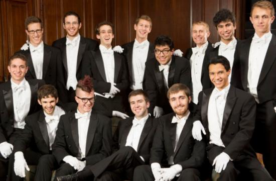 The Yale Whiffenpoofs will take part in a benefit concert for P.S. Arts at The Broad Stage this Sunday