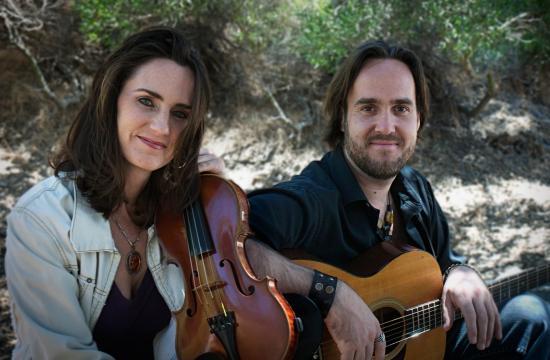Stephanie Bettman and Luke Halpin will perform this Sunday